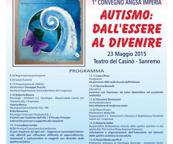 2015 - Autismo locandina convegno
