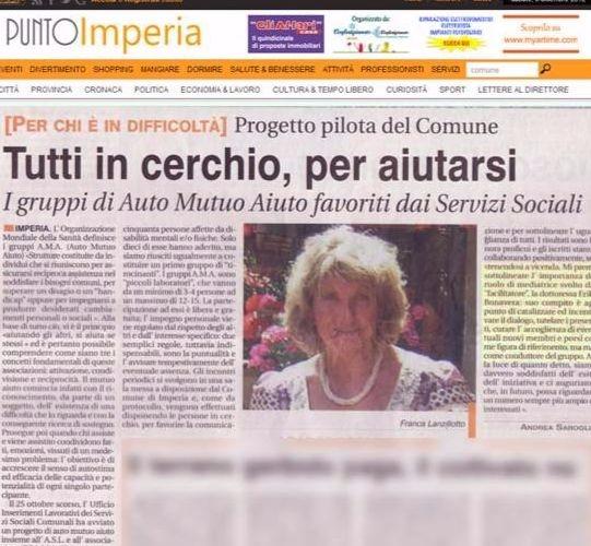 F - PUNTO IMPERIA - progetto pilota Comune